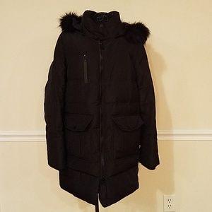 Women's Andrew Mark black puffer jacket